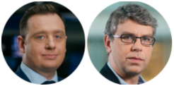 Maciej Duda i Robert Zieliński