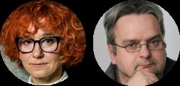 Judyta Watoła i Wojciech Czuchnowski